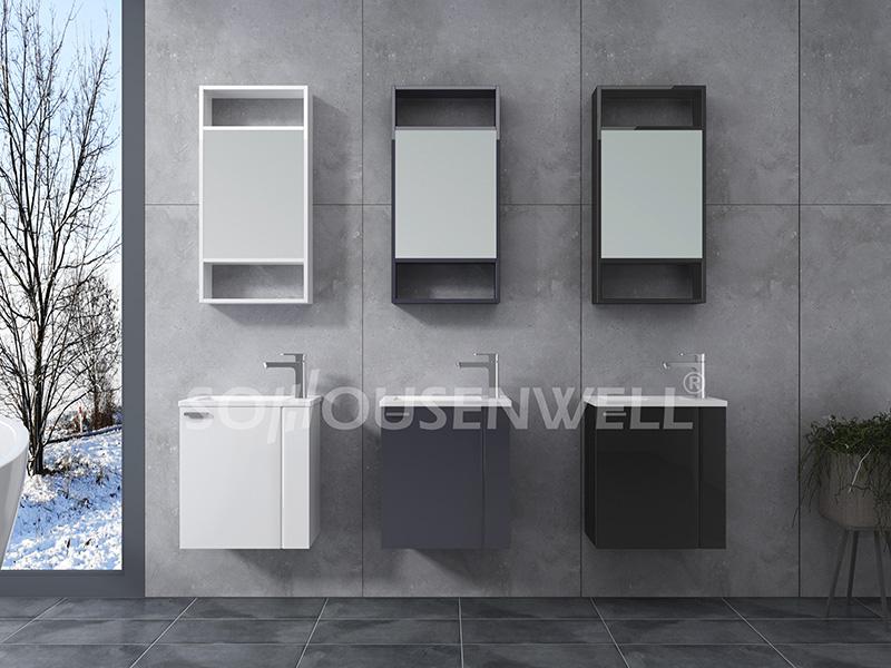 HS-E1900 Hot Sale Bad Eitelkeit Luxus Waschbecken und Schrank Kombination