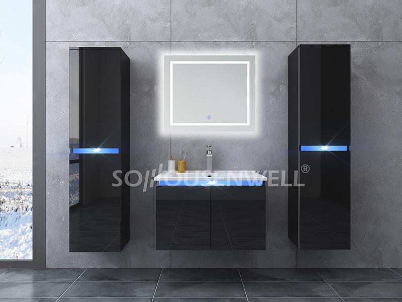 HS-E1906 High-End-Anbieter von billigen Waschtisch-Badmöbeln