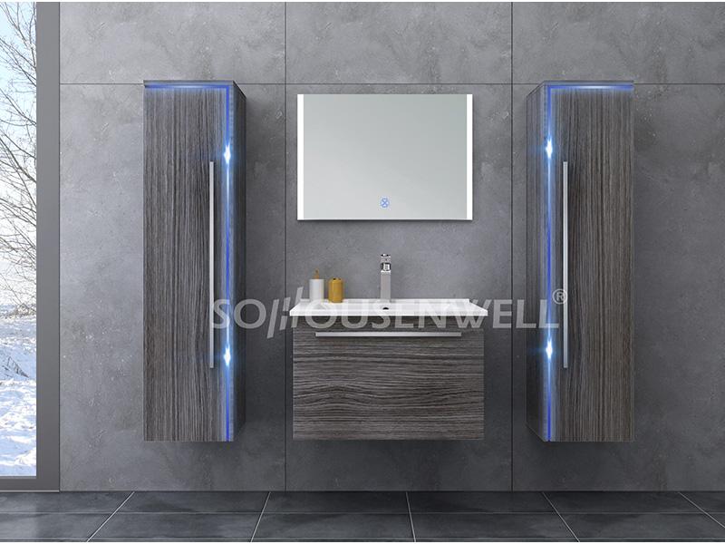 HS-E1907 Hot Sale Badezimmerschrank neue Luxus-WC-Waschtisch-Kombination
