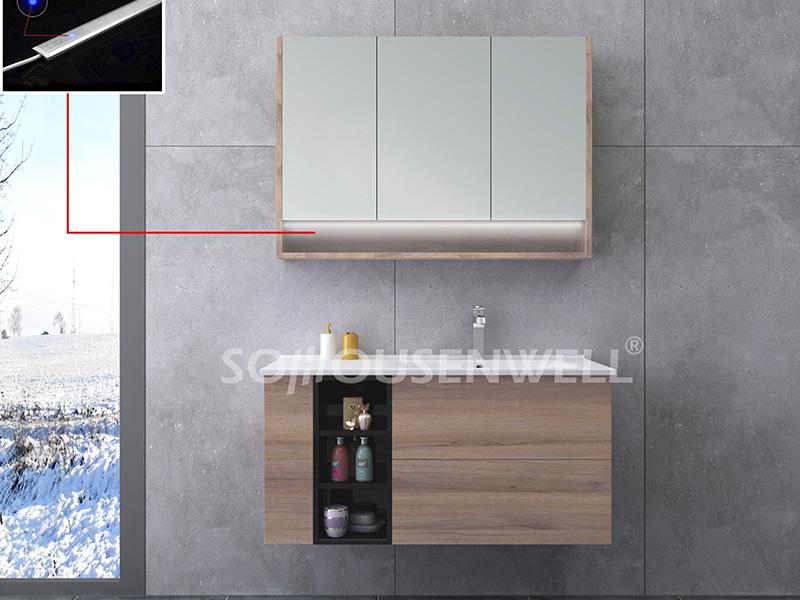 HS-E1921 Bester Preis Badezimmerschrank Eitelkeit Badezimmermöbel Hersteller