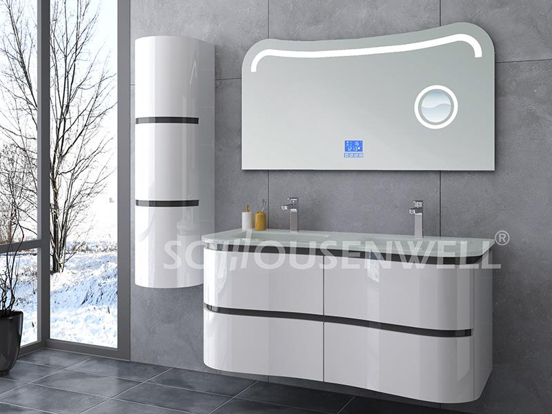 HS-E1934 Moderner Badezimmerschrank aus Kunststoff