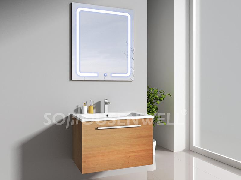 HS-E1942 Neuer Design Badezimmerschrank LED Spiegel antiker Badezimmereitelkeit