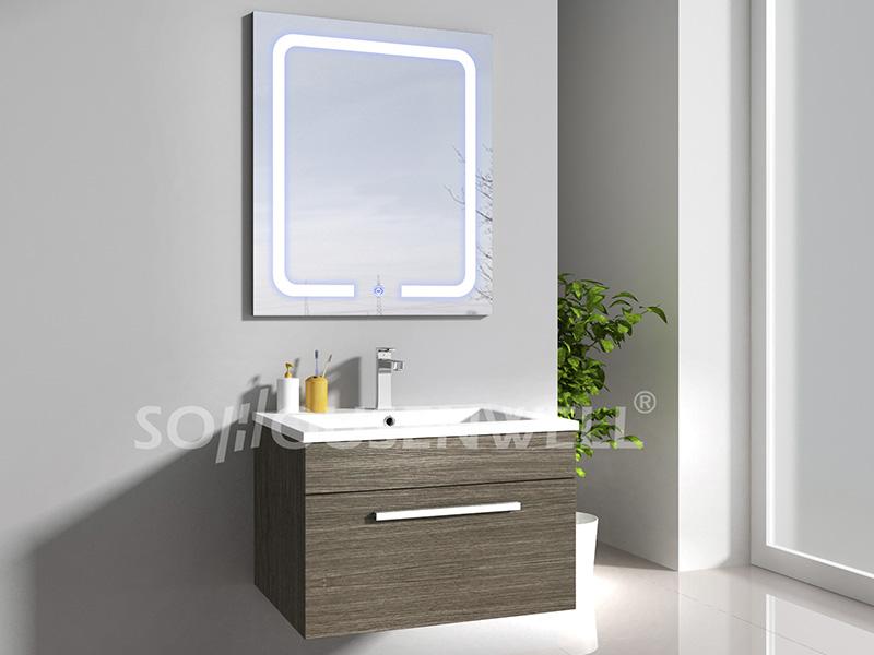 HS-E1943 Bestseller weißer Wandschrank aus weißem MDF-Badezimmerschrank
