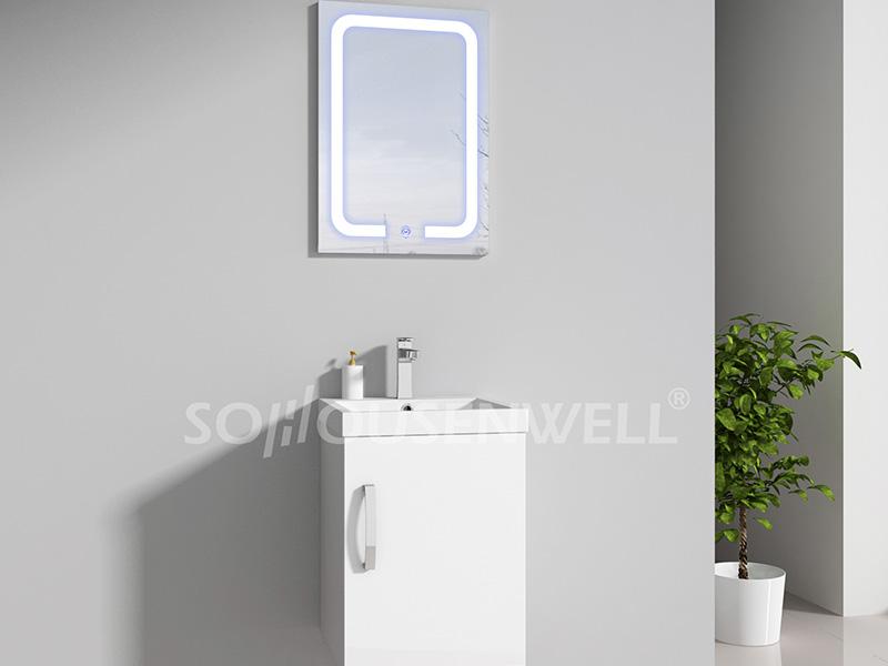 HS-E1945 Moderne Badezimmerschränke und Waschbecken für Toiletten