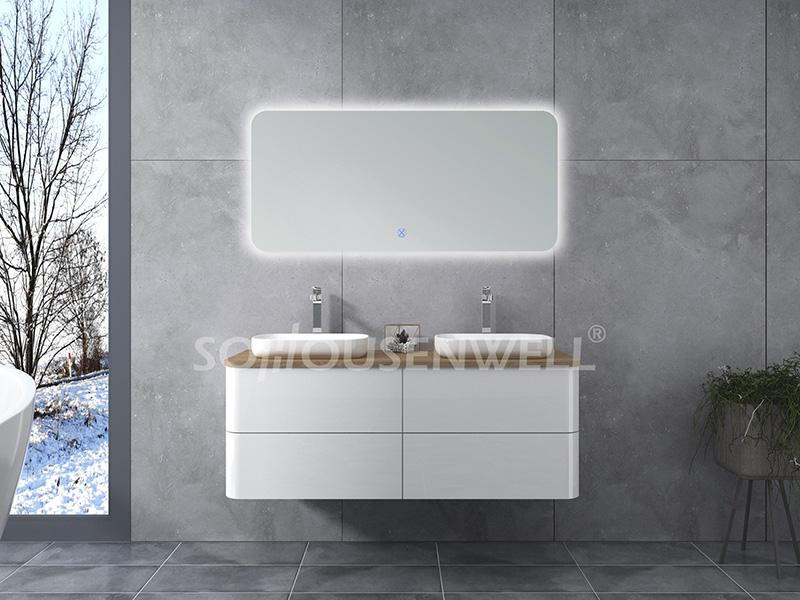 HS-E1957 Klassische Badezimmerschränke Möbelschrank Badezimmerschrank