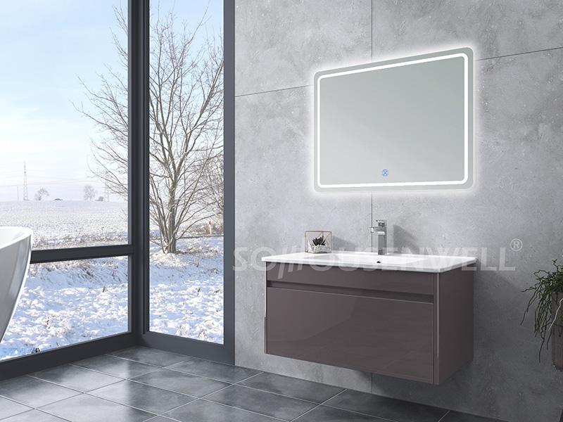 HS-E1959 Wohnmöbel Badschrank Badmöbel mit LED-Spiegel