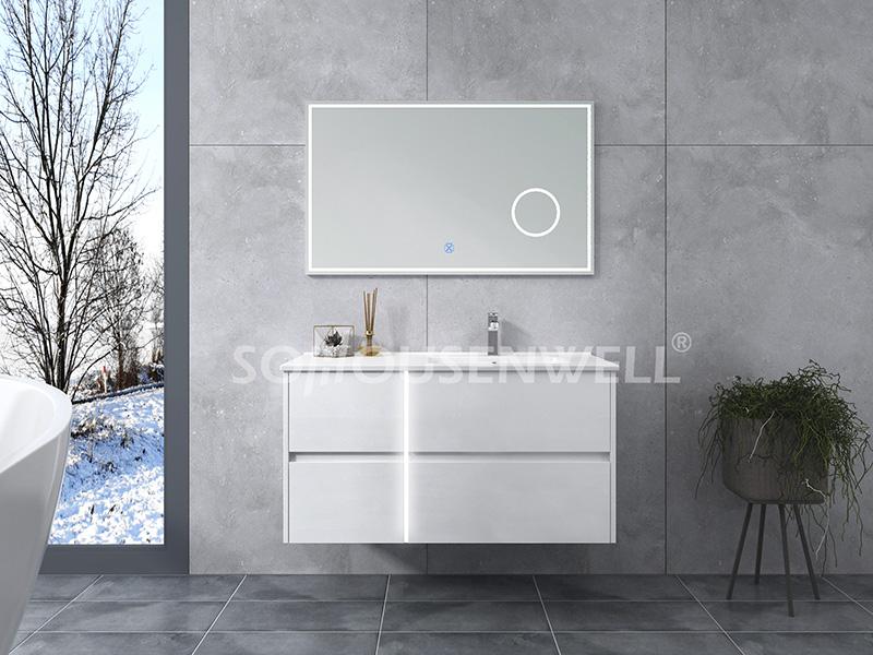 HS-E1961 Neuer Design Hotel Badezimmerschrank mit Einzelwaschbecken