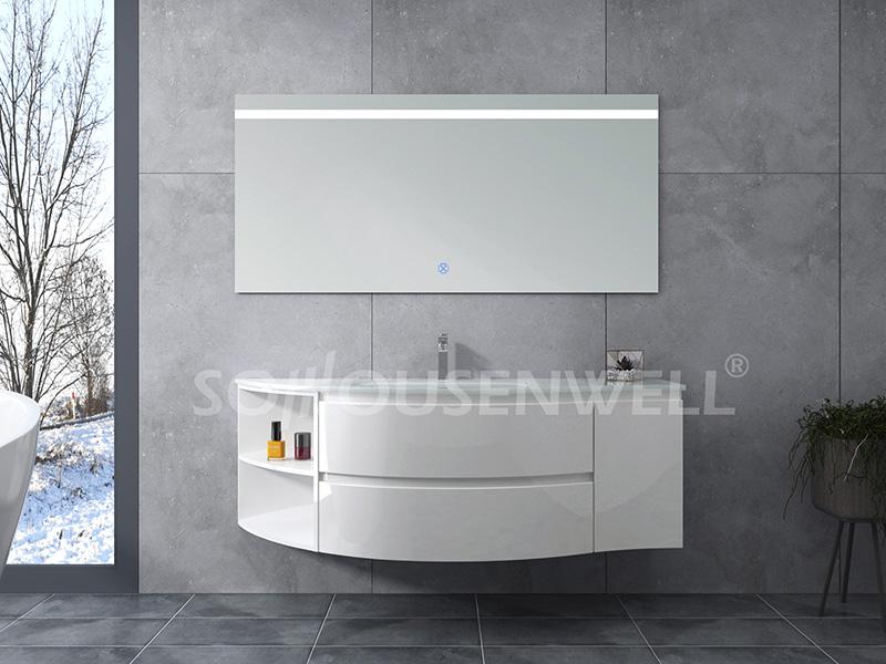 HS-E1966 Badmöbel aus weißem Kunststoff