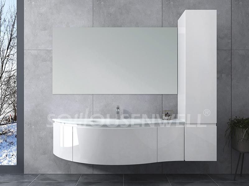HS-E1967 Waschraum im europäischen Stil, moderner Bad-PVC-Waschtisch vom Hersteller