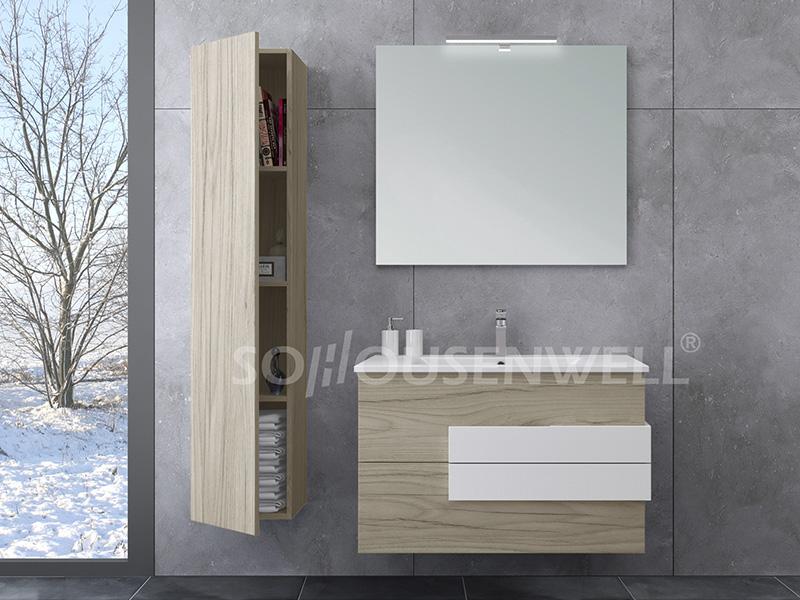 HS-E1971 Badezimmerschrank europäischer DTC moderner Badezimmereitelkeit