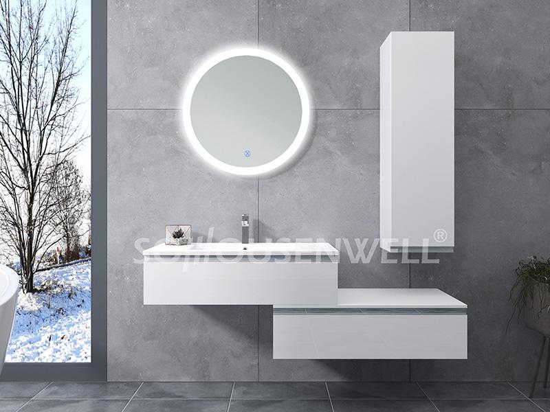 HS-E1986 Modedesign Badezimmerschrank Hotel Eitelkeit LED beleuchteter Badezimmerspiegel