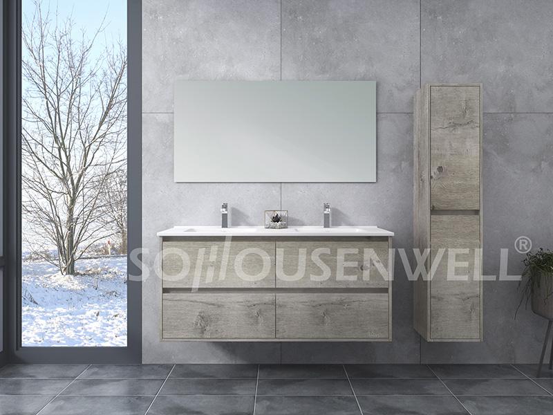 HS-E1994 Badezimmerspiegel mit Schrank Luxus-Badschrank