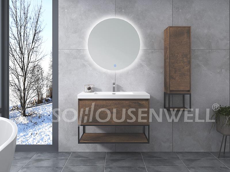 HS-E1995 Badezimmereitelkeit Wandspiegel Badezimmer Luxusschrank