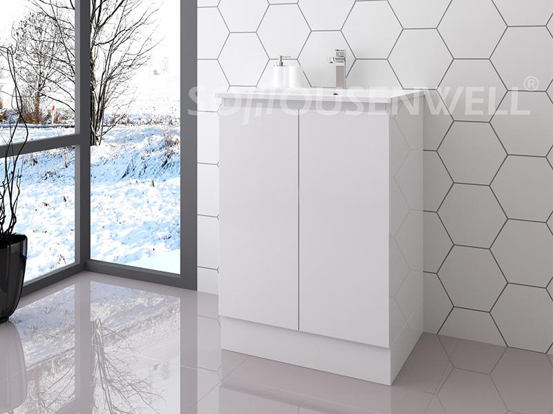 Ela-600 Boden stehender Toilettenschrank Badezimmermöbel moderner Badezimmereitelkeit