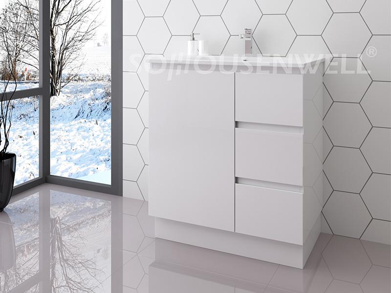 Ela-750 Boden stehender Toilettenschrank Badezimmermöbel moderner Badezimmereitelkeit