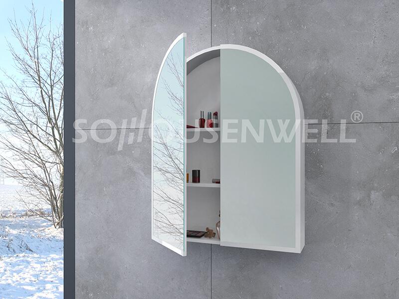 Mod-600 Wohnmöbel Badezimmerschrank Wand-Waschtisch