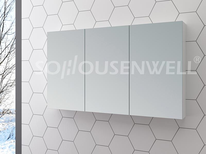 Sha-1200 Antike Holz Smart Möbel Badezimmerschrank kleine Badezimmereitelkeit