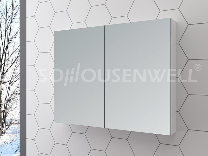 Sha-900 Antike Holz Smart Möbel Badezimmerschrank kleine Badezimmereitelkeit