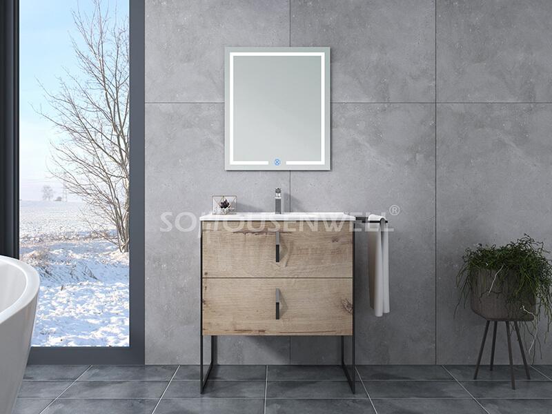 Y16-900 Heißer Verkauf Badezimmerschrank Badezimmermöbel Schrank Waschtischset