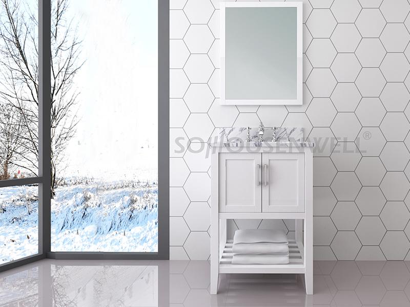 Y24-600 Neuankömmlinge Badezimmerschrank Badezimmerschrank Waschtischspiegel