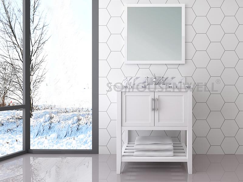 Y25-750 Neuankömmlinge Badezimmerschrank Badezimmerschrank Waschtischspiegel