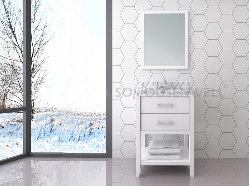 Y28-600 Neuankömmlinge Badezimmerschrank Badezimmerschrank Waschtischspiegel