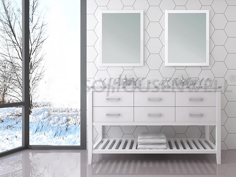 Y31-1500 Neuankömmlinge Badezimmerschrank Badezimmerschrank Waschtischspiegel