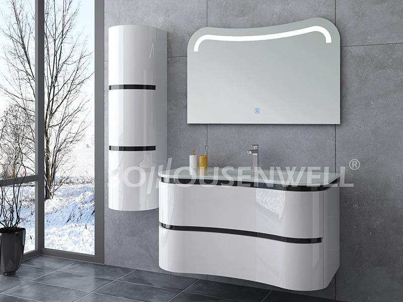 HS-E1933 PVC Badschrank Badmöbel Badmöbel mit Spiegel